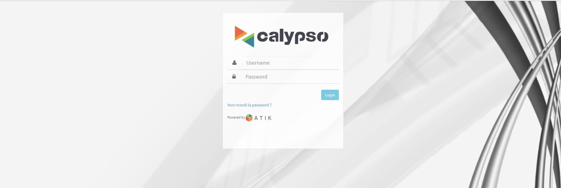 Software Gestionale Calypso